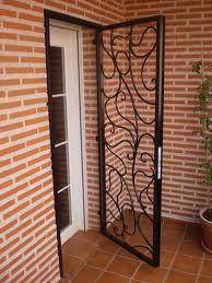 Puertas herreria herreria chavez for Puertas galvanizadas